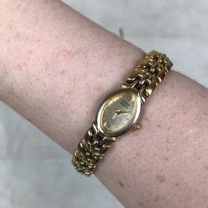 Citizen vintage yellow gold watch Art Deco Japan